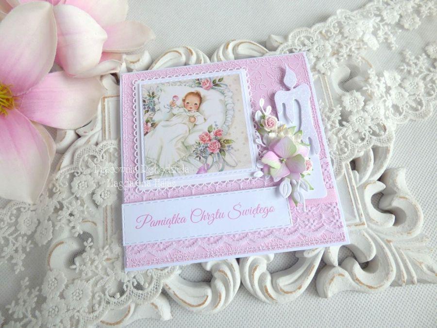 Pamiątka chrztu w kopercie 100 -