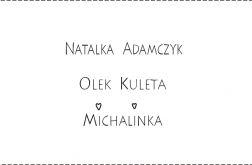 Naszywka - literki małe czcionka drukowana