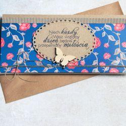 kartka - kopertówka :: ślubne życzenia