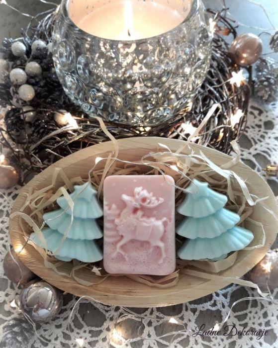 Świąteczny zestaw mydełek z nutą pierniczka