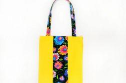 Folkowa żółta - torba na zakupy