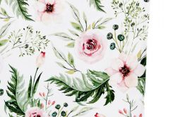 Poduszka Velvet(L)ove garden - jasny róż