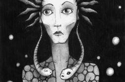 Wężowe - oryginalny rysunek 1201