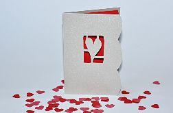 Kartka walentynkowa -1-