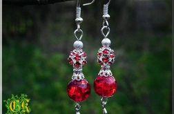 Czerwone kryształki