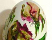 Kacze Jajeczko Malowane Różyczki Ogrodowe