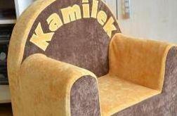 """Fotelik z imieniem""""Kamilek""""- prezent na roczek"""