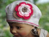 czapeczka /beret  Marika