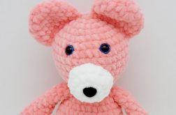 Mały miś - różowy