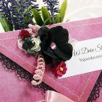 Kopertówka ślubna-pink LOVE