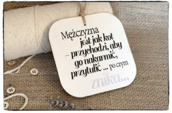 ~Od Ani~ Szyld Cytat Motto Tabliczka z napisem, Zawieszka na drzwi