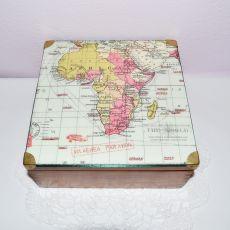Szkatułka z mapą