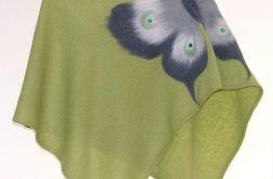 Ponczo dla dziewczynek z motylem 7