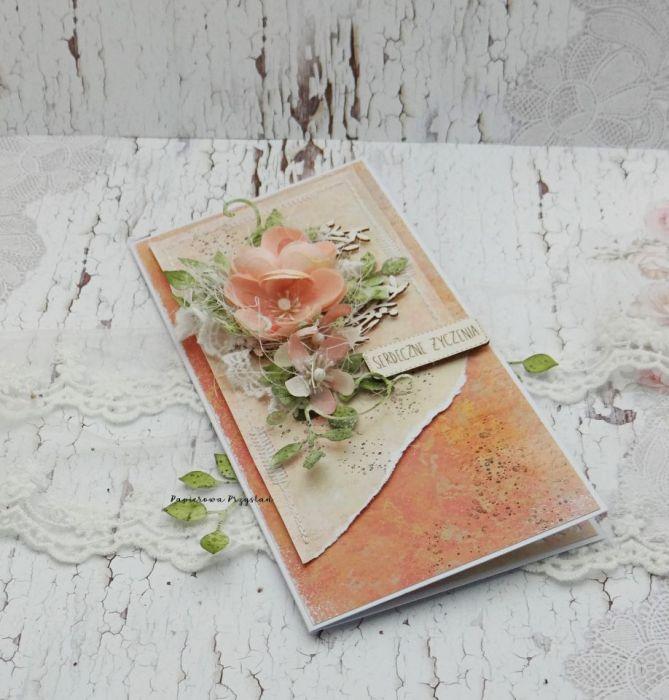 Serdeczne Życzenia- kartka w pudełku 3 - kartka na dzień nauczyciela