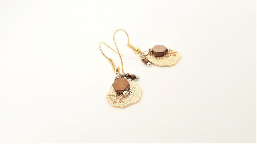 Kolczyki z serii Simple 6 - Biżuteria modowa na prezent vintage