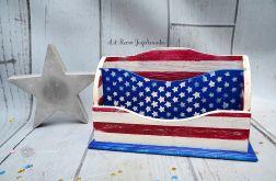 Listownik/ organizer AMERICAN FLAG