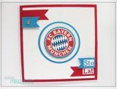 Kartka dla fana FC BAYERN MUNCHEN (MONACHIUM)