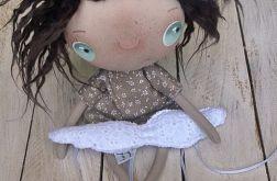 ANIOŁEK lalka tekstylna, cute angel 4, OOAK