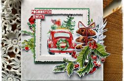Pan Samochodzik - kartka bożonarodzeniowa