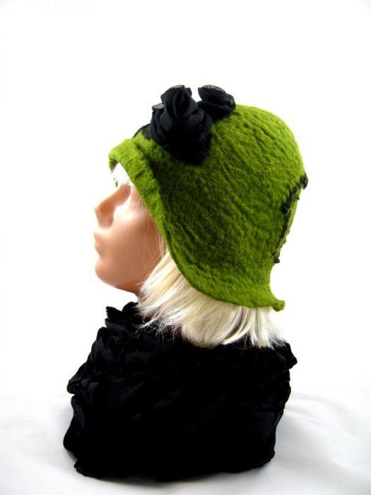Filcowa czapka