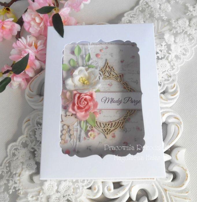 Ślubna kartka A6 w pudełku 11