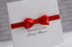 Zaproszenie na ślub Flores II