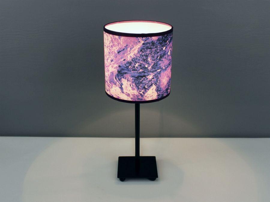 "Fioletowa lampa nocna ""tERRAFORM violet"" S"