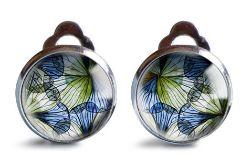 Blue spring klipsy z ilustracją