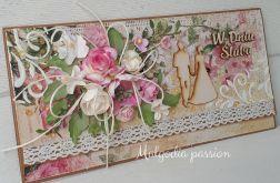 Kartka kopertówka eco na ślub