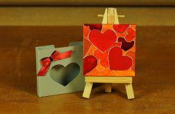 Walentynkowa kartka-magnes 4