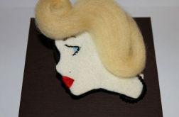 Broszka Marilyn Monroe