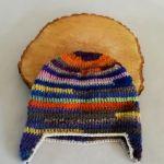Czapka zimowa tęcza energetyczna - czapka multikolor