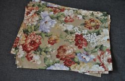 4 podkładki pod talerze - pastelowe róże