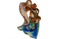Anioł ceramiczny Wiola 02