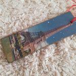 Wieża Eiffla - zakładka do książki - Praktyczny prezent - zakładka