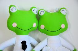 Para ślubna - żabki duże