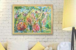 Szkic ogrodowy nr 7 -  kolorowy rysunek