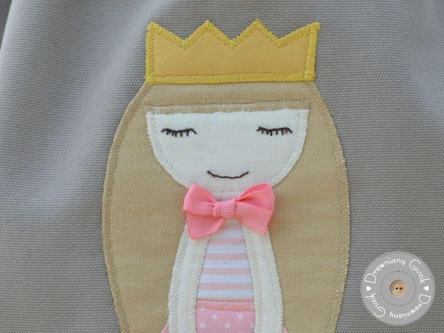 worek do przedszkola księżniczka z imieniem