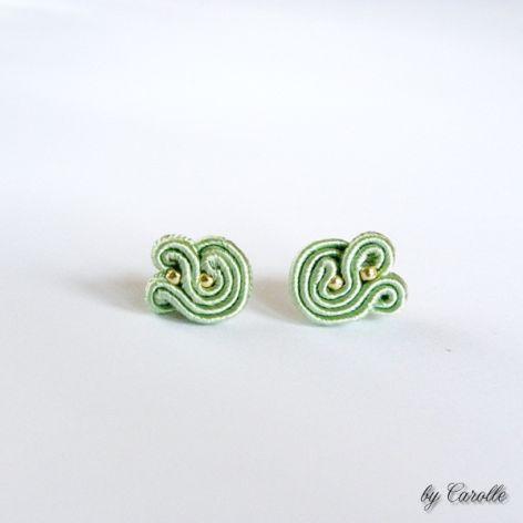 Mini Swirls Light Green
