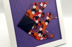 Obrazek origami ścienny i do postawienia Ryba