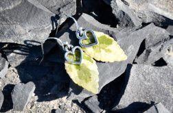 Zatopki liście bluszcz z sercem
