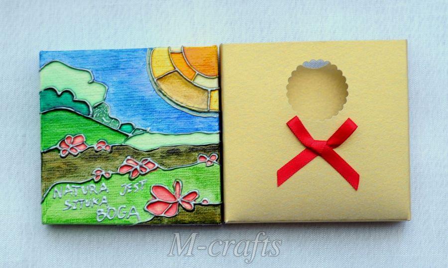 Kartka-Magnes: Natura jest sztuką ...