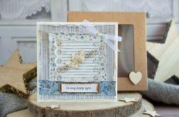 Kartka ślubna w pudełeczku (s03)