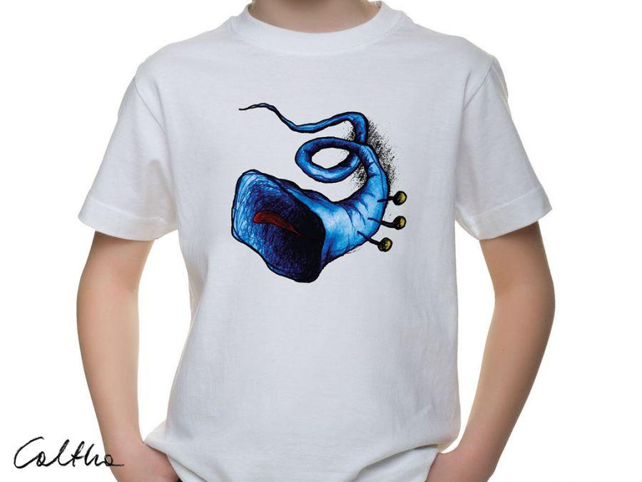 Niebieska trąbka - t-shirt 2-14 lat (kolory)