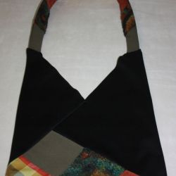 torba czarna worek Qzieleń- na Fundację