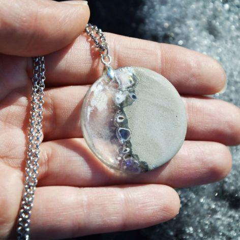 Zatopek wisiorek opal