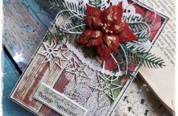 Kartka świąteczna +pudełko A4+papeteria