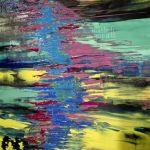 Obraz abstrakcja tygrysek 40x40
