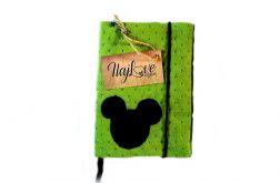 Etui na książeczkę zdrowia dziecka myszka