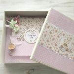 Komplet dla dziewczynki - album w pudełku